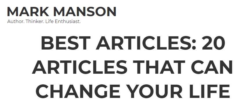 20 smarter articles