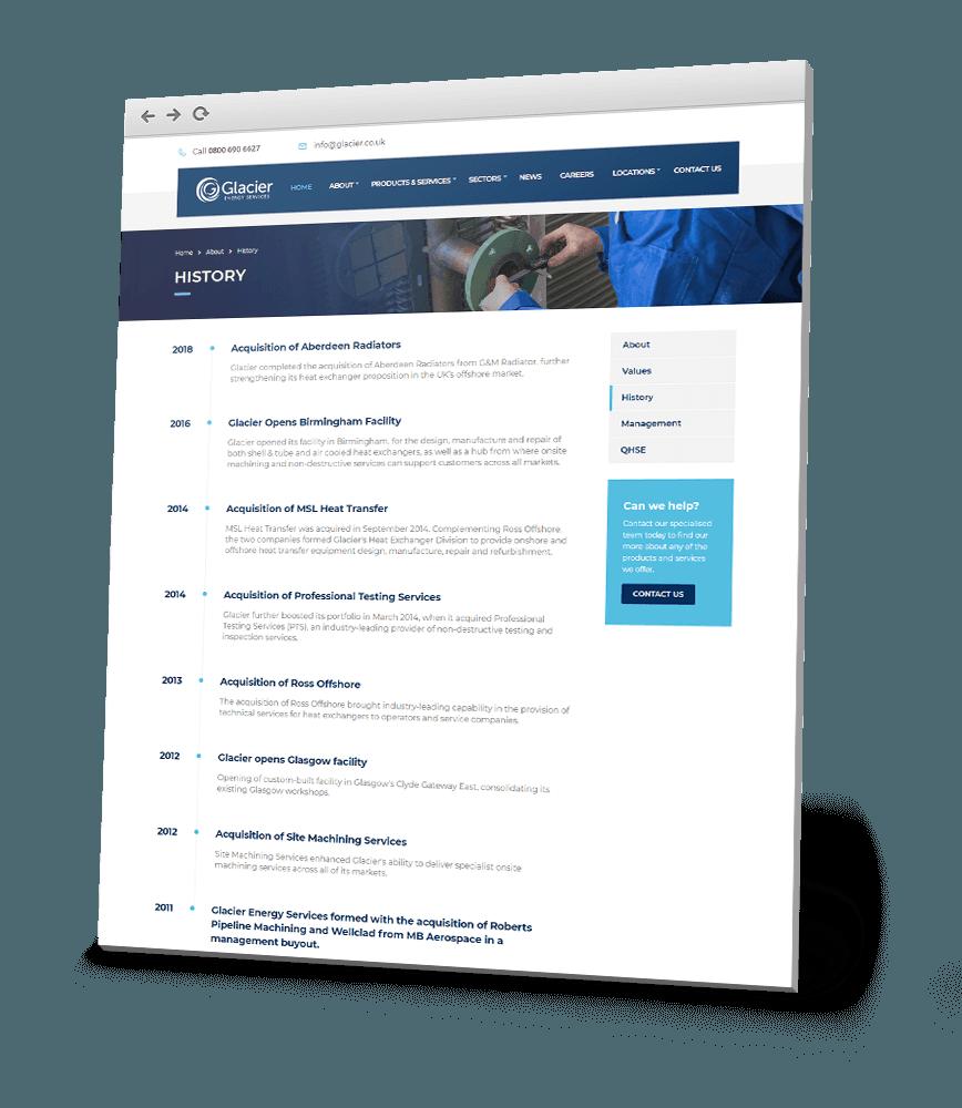 smart web page content